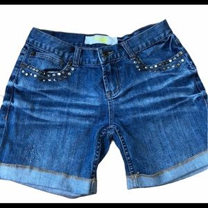 Charlotte Russe Studded Shorts